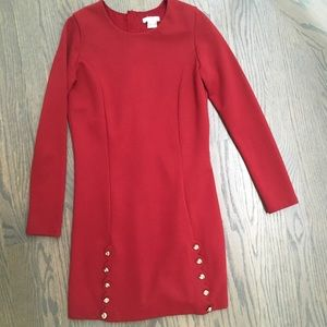 Girls sz 14 Chloe auburn long sleeve stress